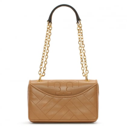 Alexa Aged Vanchetta Leather Shoulder Bag