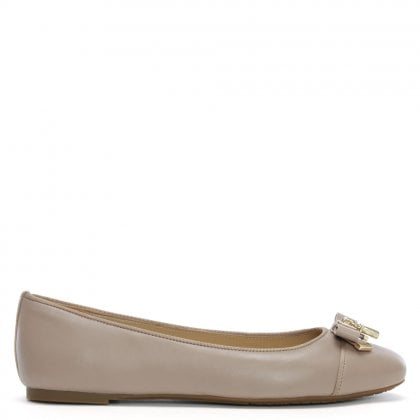 Alice Truffle Leather Ballet Flats