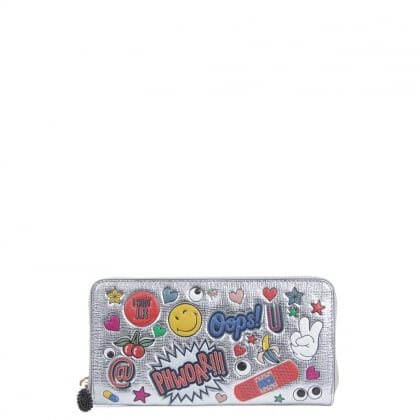 All Over Wink Large Wallet