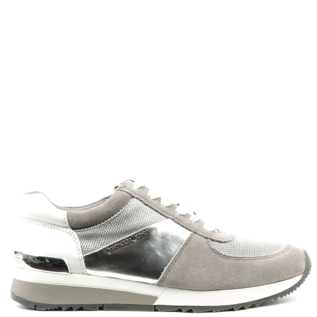Allie Silver Lace Up Trainer