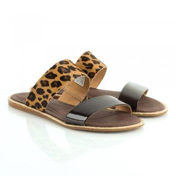 Ugg 174 Amalia Women S Leopard Flat Sandal