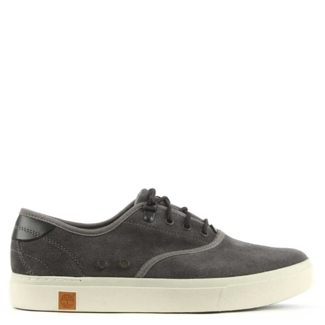 Amherst Navy Suede Lace Up Trainer