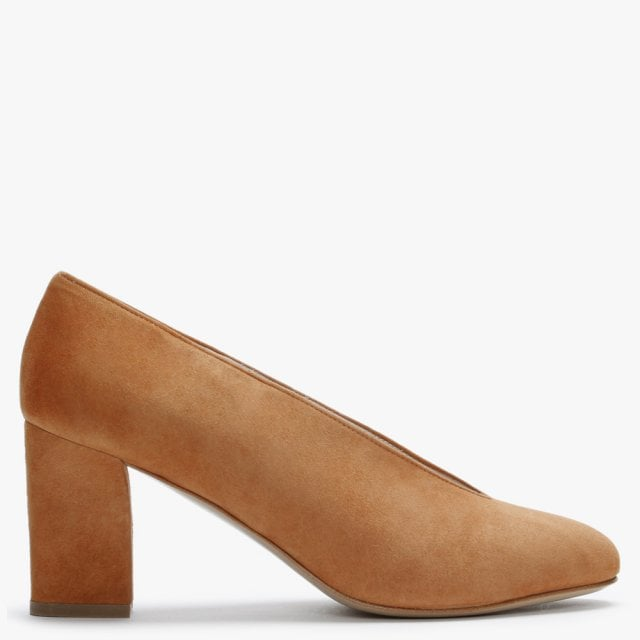 Daniel Aneso Tan Suede V Front Court Shoes