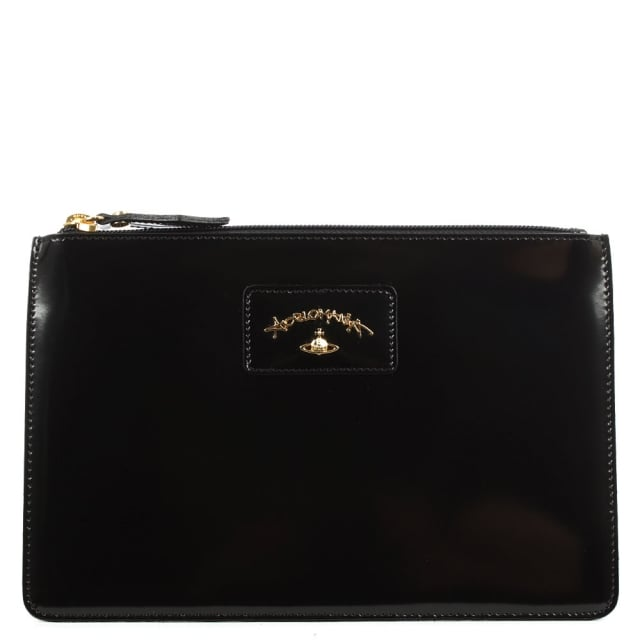Anglomania Newcastle Black Leather Pouch