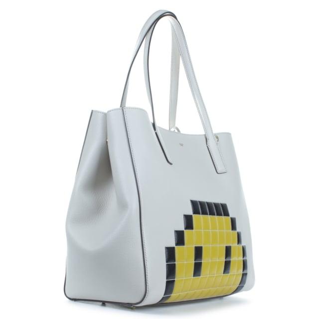2e58553d0ebb Anya Hindmarch Ebury Pixel Smiley Shopper Bag