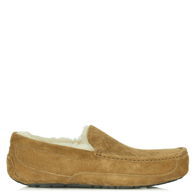 Ascot Mens Chestnut Slipper