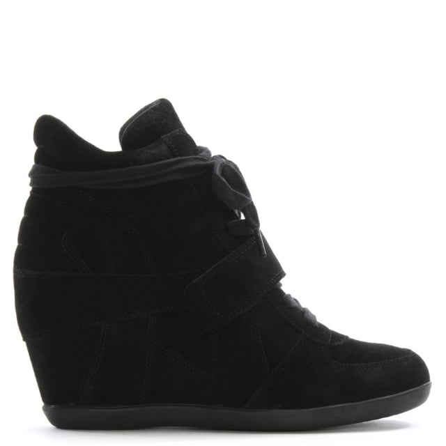 ash-bowie-black-suede-womens-wedge-high-top