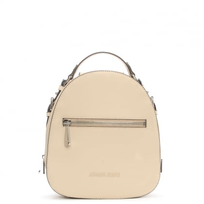 Austria Beige Top Handle Backpack