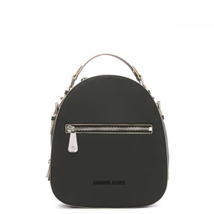 Austria Black Top Handle Backpack