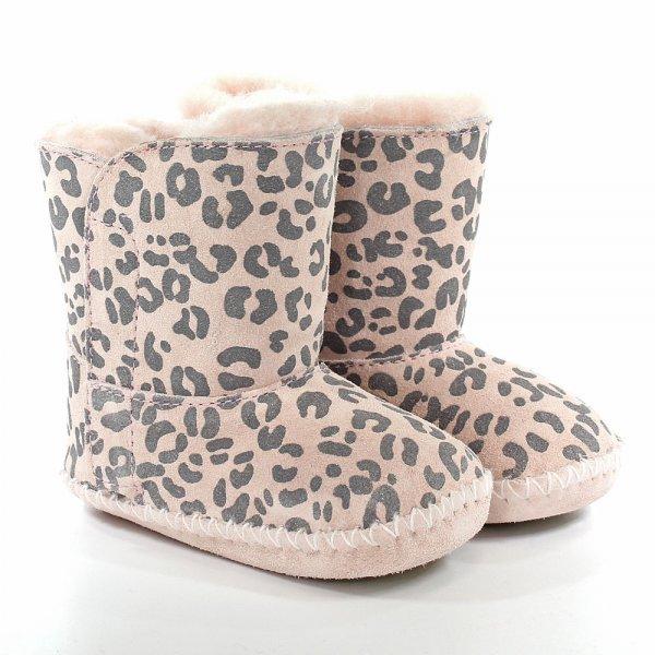 ugg u00ae baby pink leopard cassie baby pre walker boot