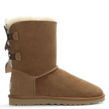 Bailey Bow Chestnut Twinface Boot