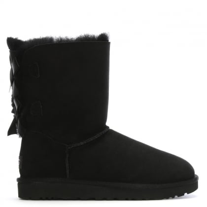 Bailey Bow II Black Twinface Boots