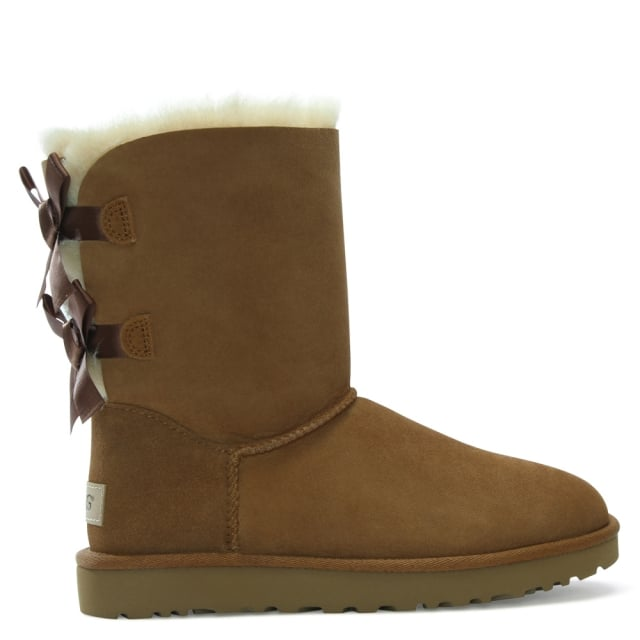 Bailey Bow II Chestnut Twinface Boot
