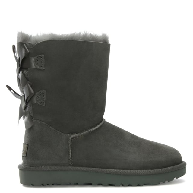 94001312973 Bailey Bow II Grey Twinface Boot