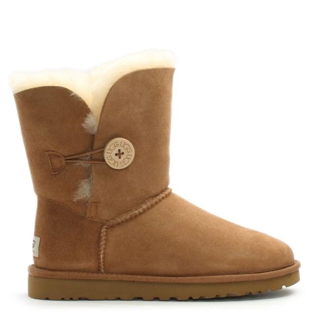 075def9d519 Bailey Button Chestnut Women's Flat Calf Boot