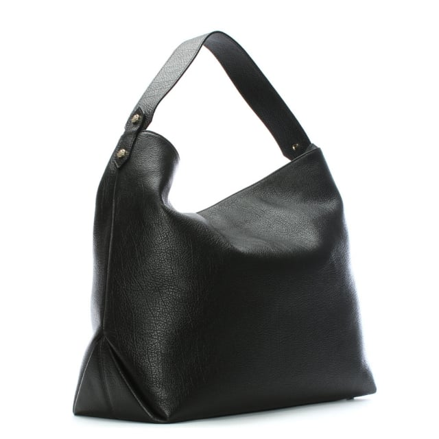 d4b828930aaa Vivienne Westwood Balmoral II Black Leather Hobo Bag