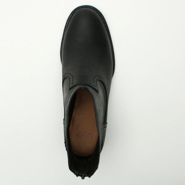 22e303e1fcb Bandara Black Leather Ankle Boots