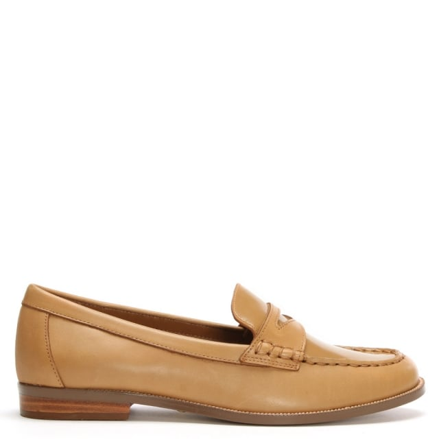 Barrett Tan Leather Loafer
