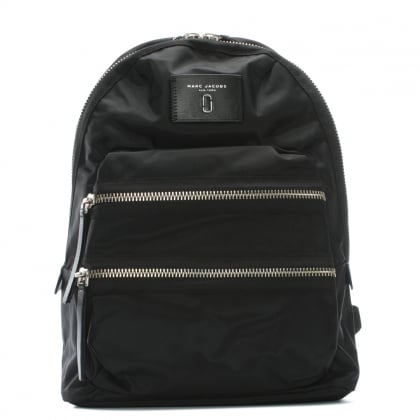 Biker Black Nylon Backpack II