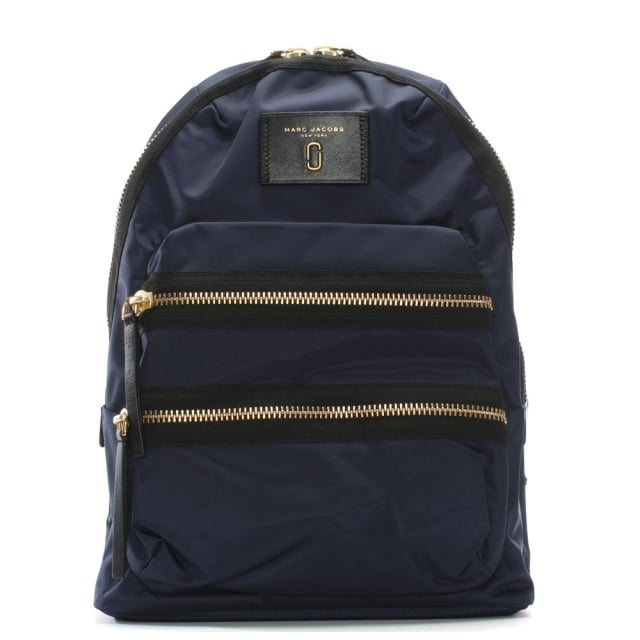 Biker Midnight Blue Nylon Backpack II