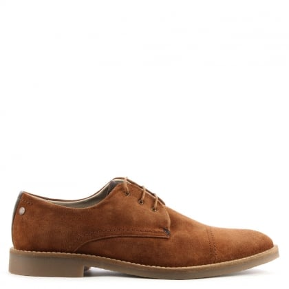 Billy Tan Suede Lace Up Shoe