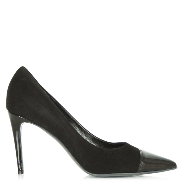 Black 81 83290 Women's Pointed Court Shoe