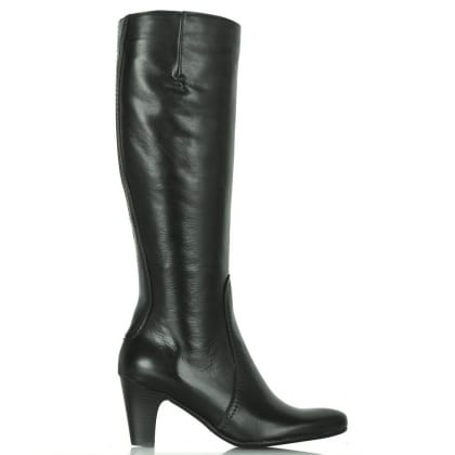 Lamica Black Acimal 60 Leather Knee Boots