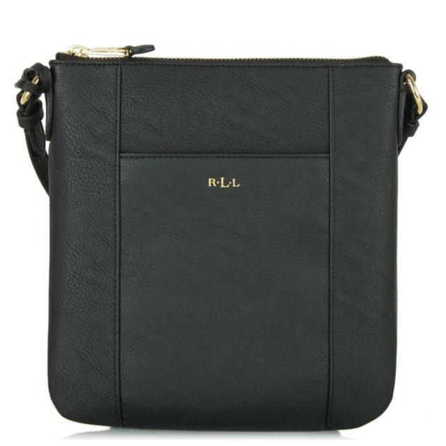 3f5e8f87d5 Lauren Ralph Lauren Black Aiden Crossbody Bag