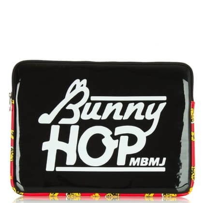 Marc Jacobs Black Coated Neoprene Bunny Hop 13 Computer Case