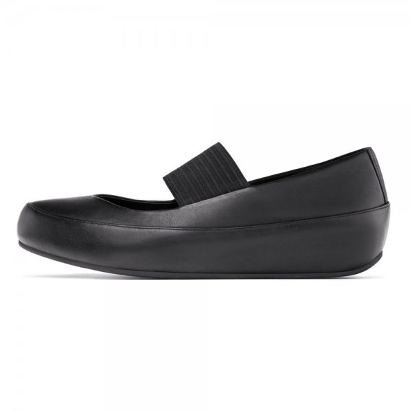 54fb7ae55a2158 FitFlop Black Dué™ Mary Jane Women s Pump