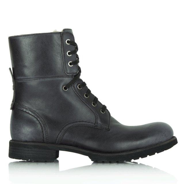 852f59e7949 Black Larus Men's Lace Up Ankle Boot