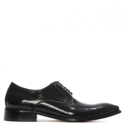 Black Leather Sturminster Brogue
