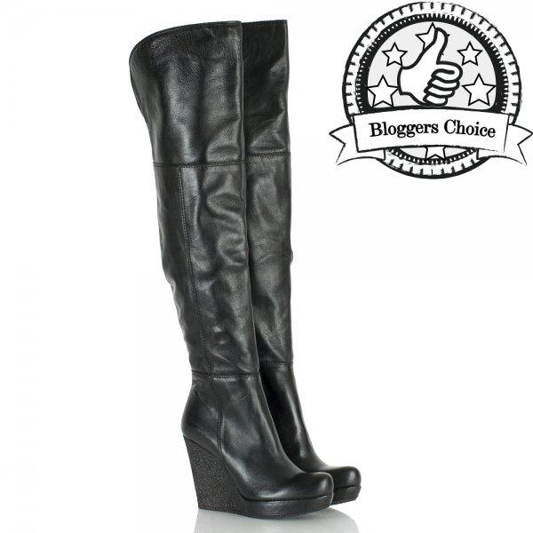 b8ce53d2243d Daniel Black Perception Women s Over Knee Wedge Boot