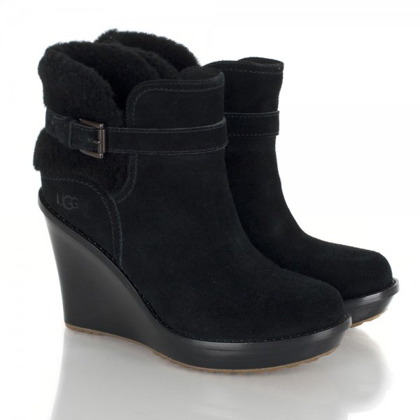 ceb98ec641c4 UGG Black Women s Anais Ankle Boot