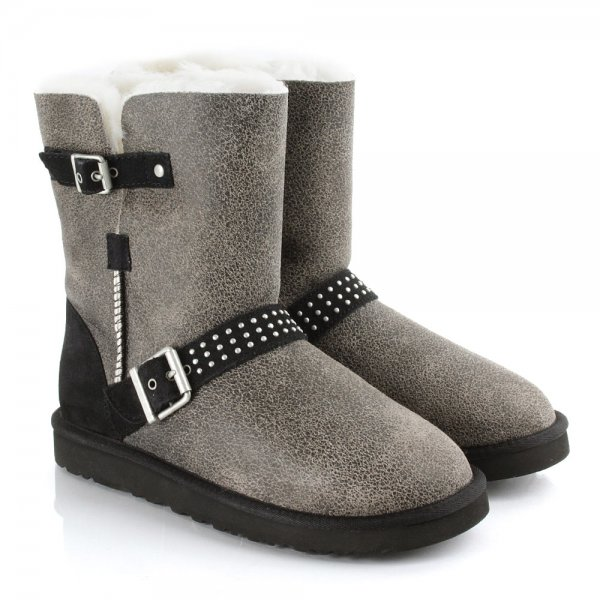 ugg bomber jacket black classic short dylyn studs women s boot rh danielfootwear com