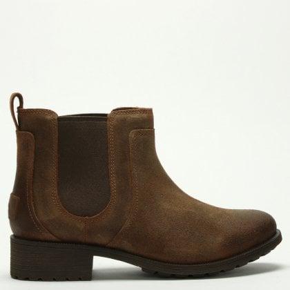 e449d2b4330 Bonham II Chipmunk Leather Chelsea Boots