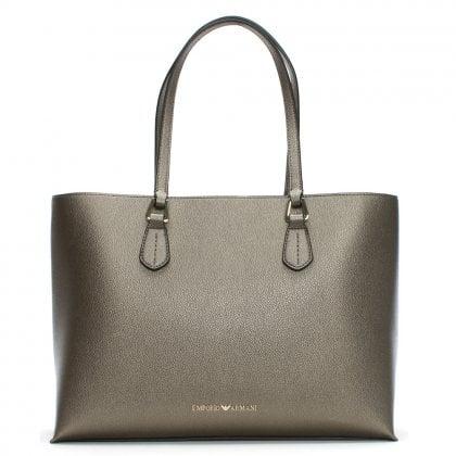 cd55a85340 Borsa Textured Silver Shopper Bag. Sale