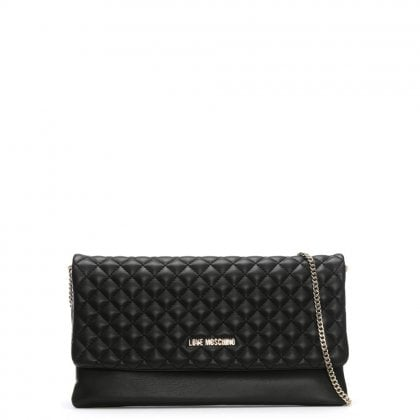 Boxer Black Quilted Cross-Body Bag