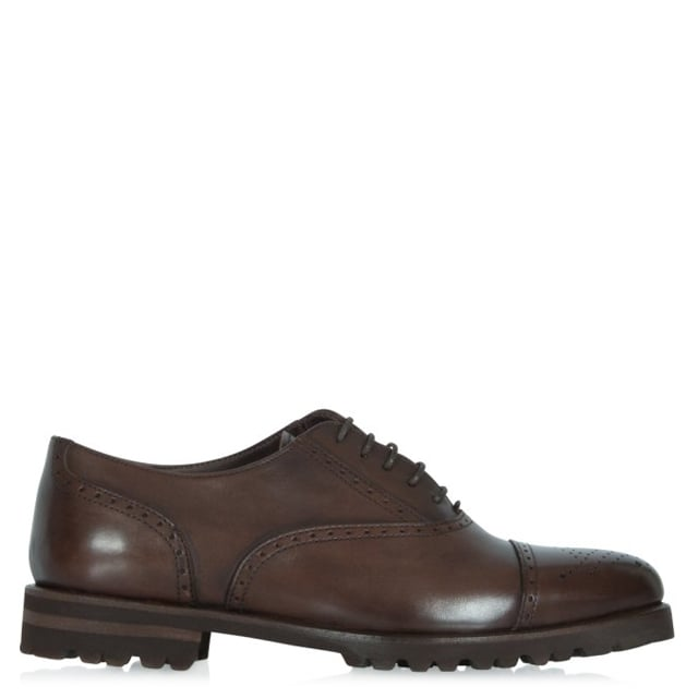Brown Leather Lace up Brogue