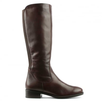 Daniel Brown Leather Sefton Knee Boot