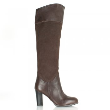 Brown Petrels Womens Over Knee Boot
