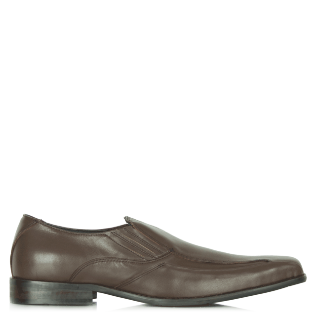 Brown Siphoned Men's Loafer