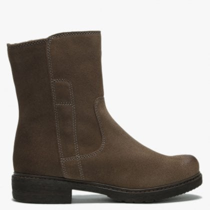 Brown Suede Ankle Boots 3934104678bc
