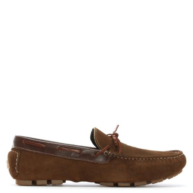 Roman Rock Brown Suede Boat Shoes