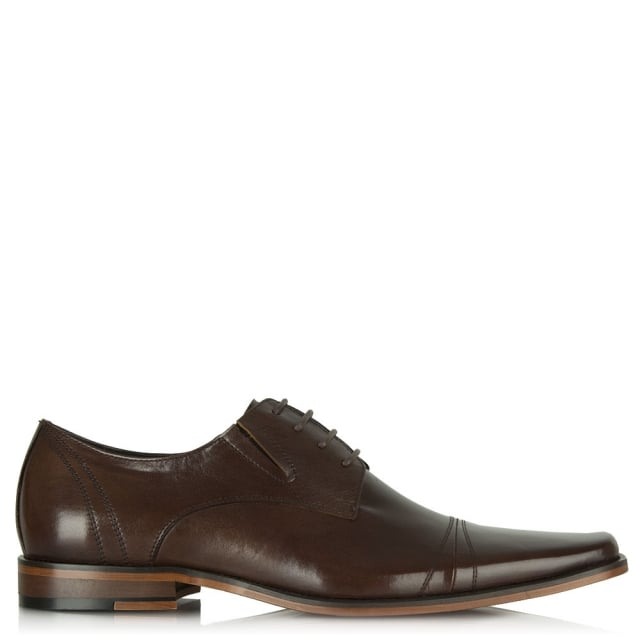 Brown Wareham Smart Leather Lace Up