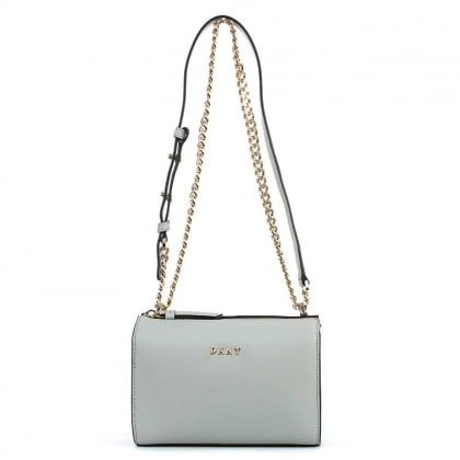 Bryant Marble Saffiano Leather Cross-Body Bag