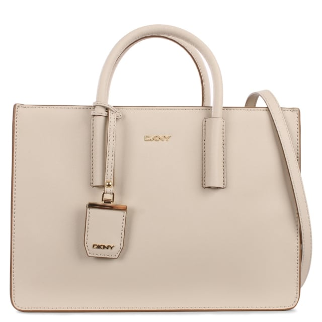 Bryant Park Chino Leather Shopper Bag