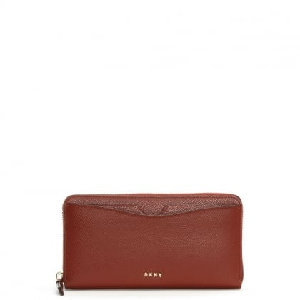 Bryant Park Oxide Leather Front Pocket Purse