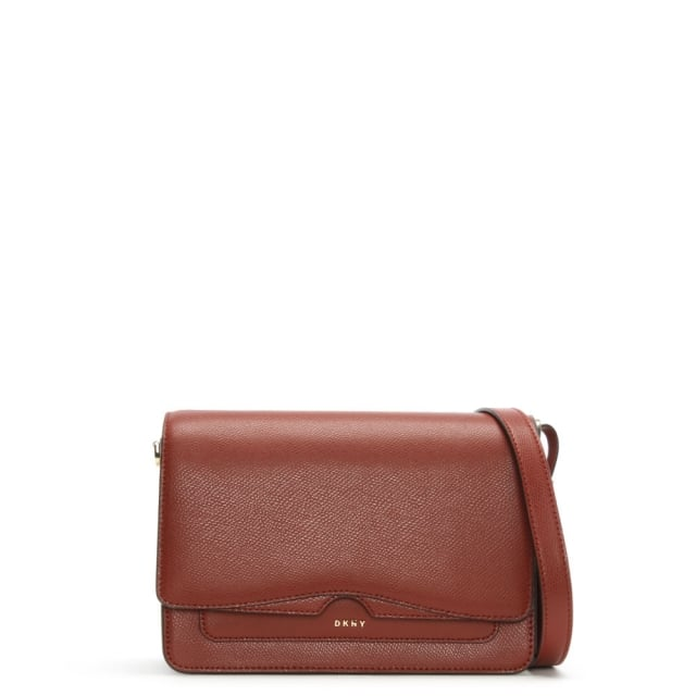 Bryant Park Oxide Tumbled Leather Cross-Body Bag