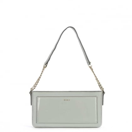 Bryant Park Small Marble Leather Cross-Body Bag